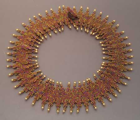 zig zag necklace