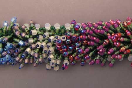 Monet's Garden Bracelet - detail